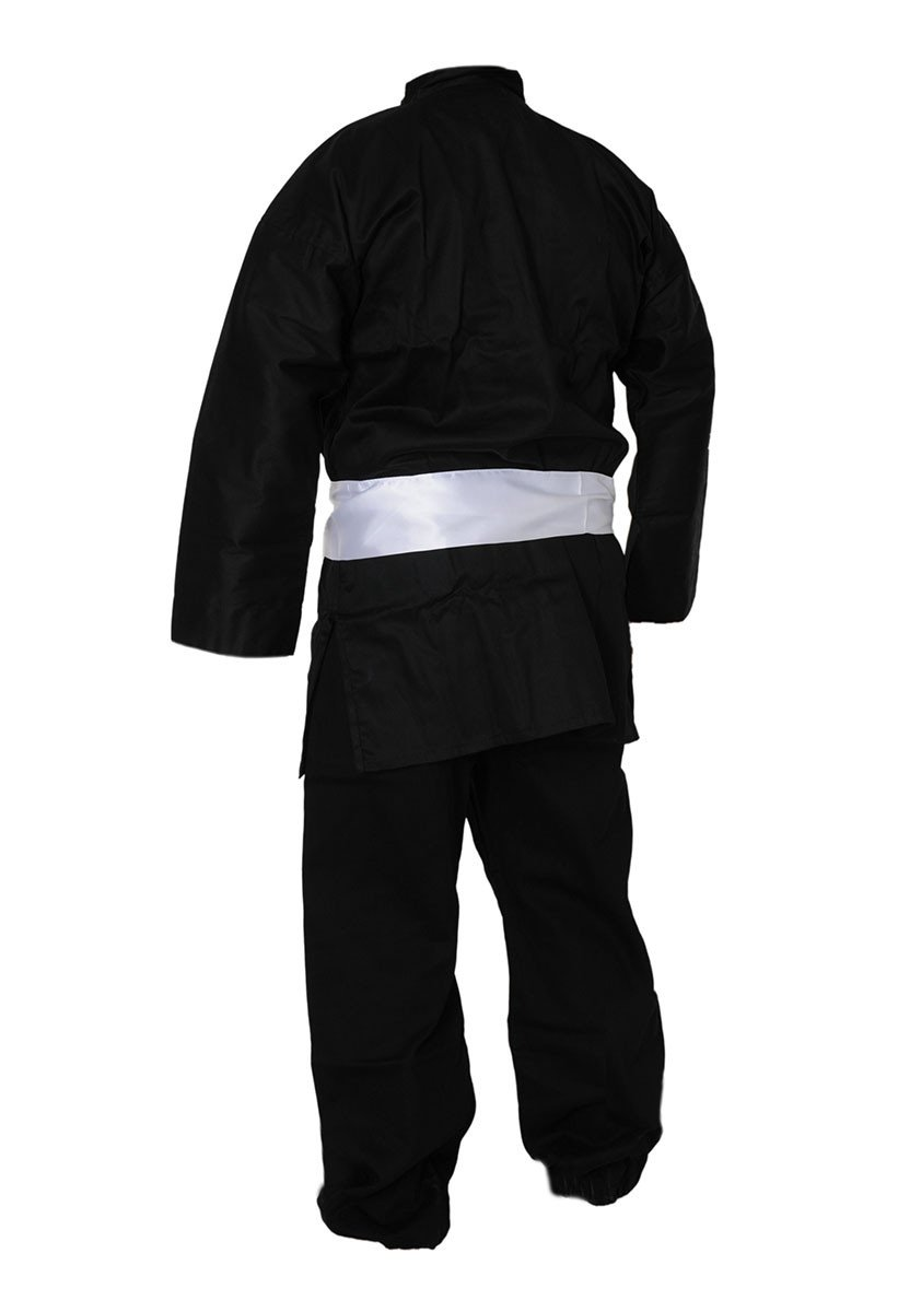Tenue Kung Fu Veste Noire