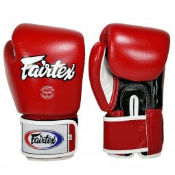 Gants de Boxe Fairtex Entraînement FXV1 Rouge