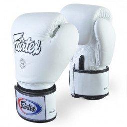 Gants de Boxe Fairtex Entraînement FXV1 Blanc