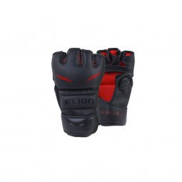 Gants MMA Elion Uncage Similicuir Skintex Black
