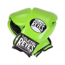 Gants de Boxe Entrainement Cleto Reyes Vert Fluo