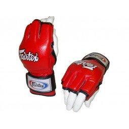 Gants MMA et Free Fight Fairtex V12 Rouge
