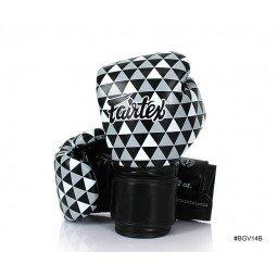 Gants de Boxe d'Entraînement Fairtex FXV14 Black Prism