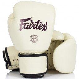 Gants de Boxe Fairtex FXV16 Blanc Crème