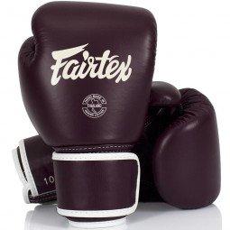 Gants de Boxe Fairtex FXV16 Maroon