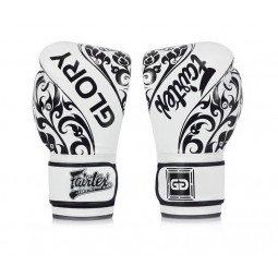 Gants de Boxe d'Entraînement Fairtex FXV2 Glory Blanc