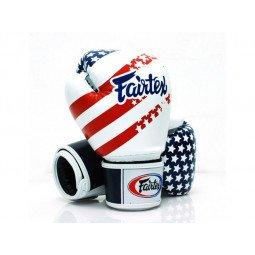 Gants de Boxe d'Entraînement Fairtex USA Flag