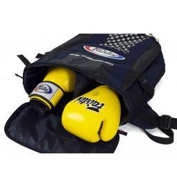 Sac de Sport Fairtex Backpack 4 Bleu Navy