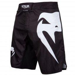 Fightshort mma Venum Light 3.0 - Noir/Blanc
