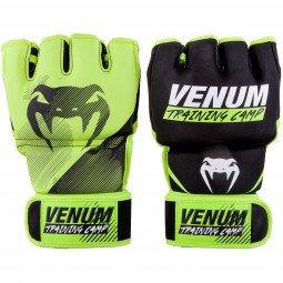 Gants MMA Venum Training Camp 2.0 - Noir/Jaune Fluo