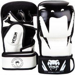 Gants MMA Venum Impact Sparring - Blanc/Noir