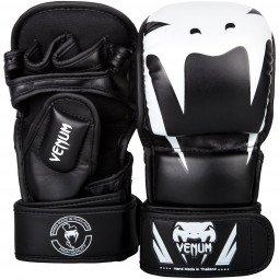 Gants MMA Venum Impact Sparring - Noir/Blanc