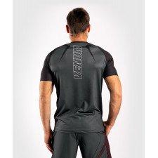 T-shirt Venum Dry Tech Contender 5.0 noir/rouge