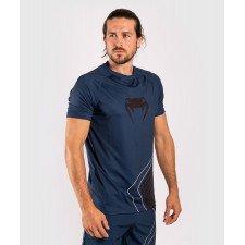 T-shirt Venum Dry Tech Contender 5.0 bleu marine/sable
