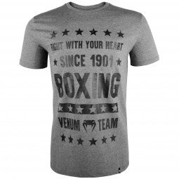 T-shirt Venum Boxing Origins - Gris Chiné