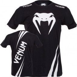 T-shirt Venum Challenger - Black/Ice