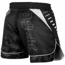 Fightshort Court Venum Okinawa 2.0 - Noir/Blanc