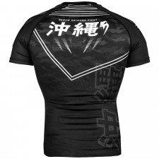 Rashguard Venum Okinawa 2.0 à manches courtes Noir/Blanc