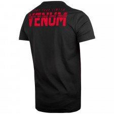 T-shirt Venum Signature à manches courtes Noir/Rouge