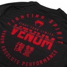 T-Shirt Dry Tech Venum Signature Noir / Rouge