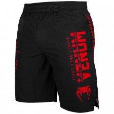 Short de Sport Venum Signature Noir/Rouge