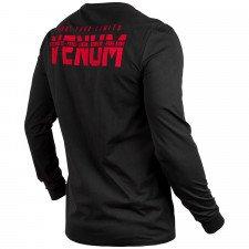 T-Shirt Venum Signature à manches longues Noir / Rouge