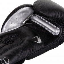 Gants de Boxe Venum Giant 3.0 Cuir Nappa Noir/Argent