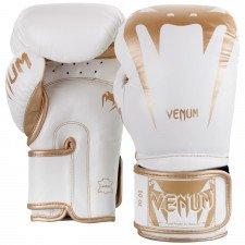 Gants de Boxe Venum Giant 3.0 Cuir Nappa Blanc/Doré