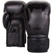 Gants de Boxe Venum Giant 3.0 Cuir Nappa Noir/Noir