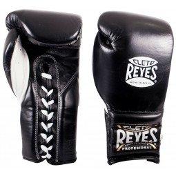 Gants de boxe combat Reyes Pro Noir
