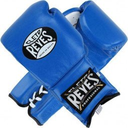 Gants de boxe combat Reyes Pro Bleu