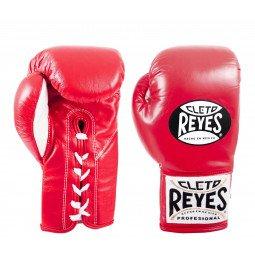 Gants de boxe combat Reyes Pro Rouge