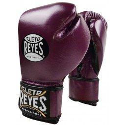 Gants de boxe entraînement Reyes Pro Metalic Purple - Redesign