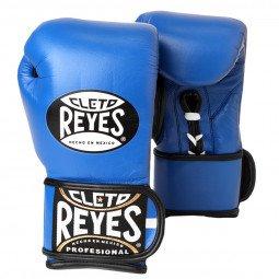 Gants de boxe entraînement Reyes Pro Bleu - Redesign
