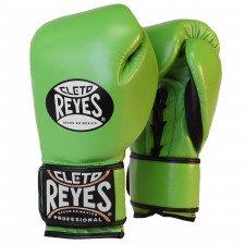 Gants de boxe entraînement Reyes Pro Citrus Vert - Redesign