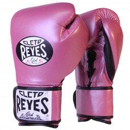 Gants de boxe entraînement Reyes Pro Pink - Redesign