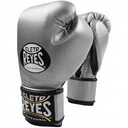 Gants de boxe entraînement Reyes Pro Silver - Redesign