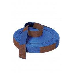 Rouleau Ceinture Judo Bleu/Marron