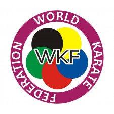 Ceinture karaté Elite bleue WKF
