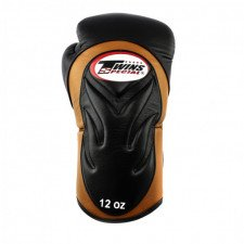 Gants de boxe entraînement Twins BGVL 6 Black/Brown