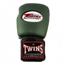 Gants de boxe entraînement Twins BGVL 4 Black/Olive/White