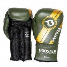 Gants de boxe BGL V3 Noir/Vert lacets