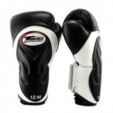 Gants de boxe Twins BGVL 6 Noir/Blanc