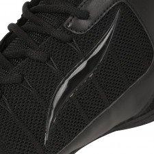 Chaussures de boxe anglaise noires Elion