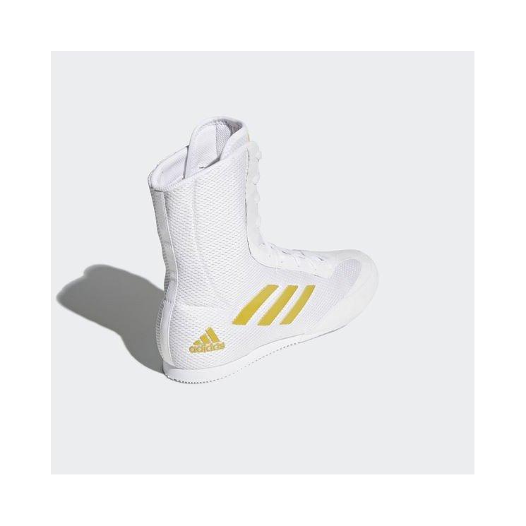 Chaussures de boxe blanches Adidas Box Hog Plus Adidas