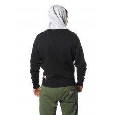 Sweatshirt Leone à Zip Noir