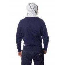 Sweatshirt Leone à Zip Navy