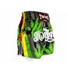 Short de boxe Thaï Twins Special TTBL 79 Grass
