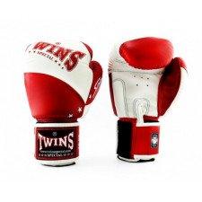 Gants de boxe Twins Special BGVL 10 rouge & blanc