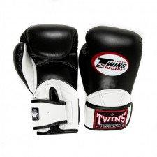 Gants de boxe Twins Special BGVL 11 noir & blanc